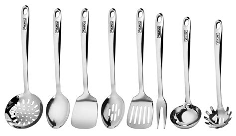 kitchen utensil stainless steel utensils viking cooking piece tools sets tool serving pc contains cutleryandmore