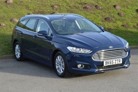 Ford Mondeo 2.0 Tdci Econetic Titanium 5 Door (blue) 2016