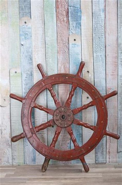 nautical decor ideas enhanced  vintage ship wheels  handmade themed decorations