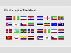 Country Flags Slide Template SlideModel