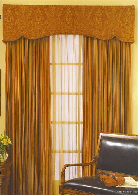 padded cornice box  sheers  blackout draperies