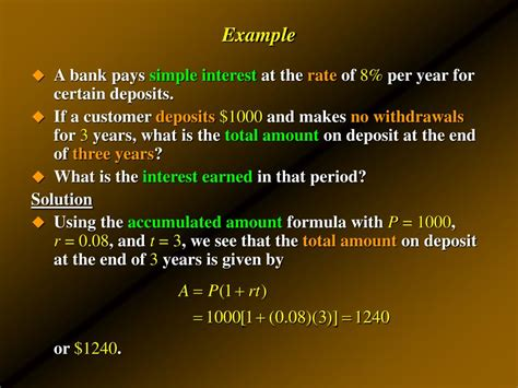 Sinking Fund Formula Exles by Ppt Compound Interest Annuities Amortization And Sinking