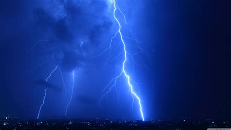 cool lightning strikes  hd desktop wallpaper
