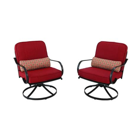 hton bay niles park patio lounge chairs with cashew