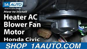 How To Replace Blower Motor With Fan Cage 92