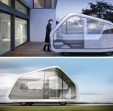 driverless  parking postmodern mobile home design