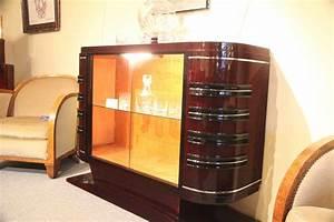 Meuble Art Deco Occasion : bar art deco vitrine en palissandre des indes ref bar 1 esprit art d co vente meubles art ~ Teatrodelosmanantiales.com Idées de Décoration