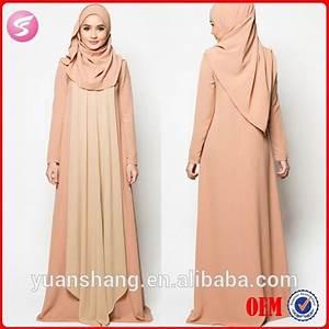2015 manches longues robe de soiree musulmane avec hijab With robe de soirée longue musulmane