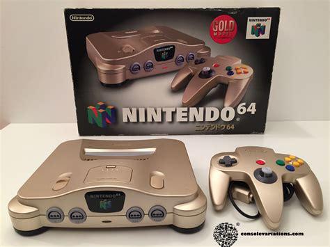 nintendo n64 console cv every nintendo 64 console variation complete color list