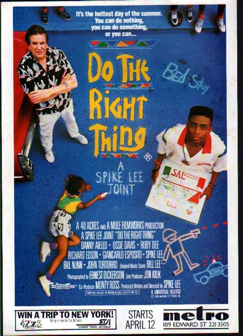 do the right thing and new york city