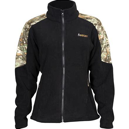 rocky womens camouflage fleece jacket style lw