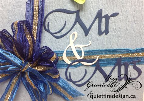 Quietfire Creations Mr, Mrs, Forever & Always  The Heart