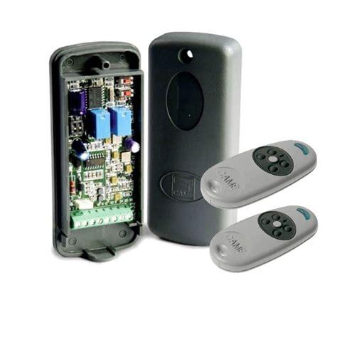 commande a distance eclairage exterieur kit commande radio universel came re862 habitat automatisme