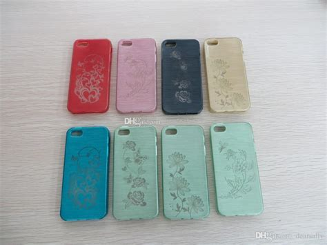 New Laser Engraving Drawing Lines Tpu Case Cover For