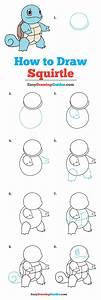 How To Draw Squirtle Pok U00e9mon