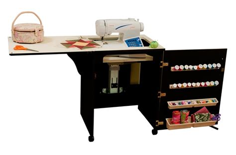 arrow sewing cabinets arrow 98503 sewnatra compact sewing cabinet black finish