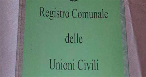 comune di noto ufficio anagrafe iscrizioni nel registro delle unioni civili da oggi 232