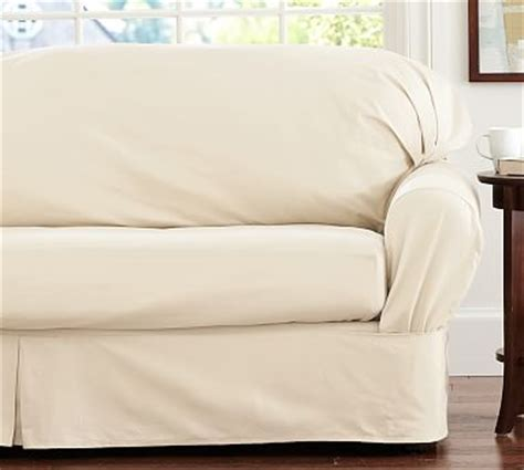 Slipcover For Sofa Cushions Separate by Separate Seat Square Cushion Fit Slipcover Twill