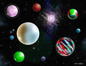 All Planets Of The Solar Federation Digital Art by ...