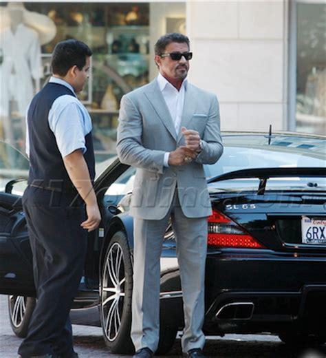 stallone  sa collection de voiture de bugatti  bentley