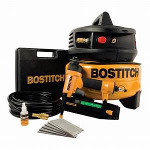 Bostitch Brad Nailer And Compressor Air Tool Kit Best Price