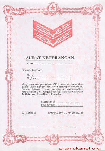 Foto copy ijazah terakhir 3. Sertifikat SKU G_terap | pramukanet | Flickr