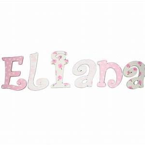 eliana toile roses hand painted wall letters With painted wall letters
