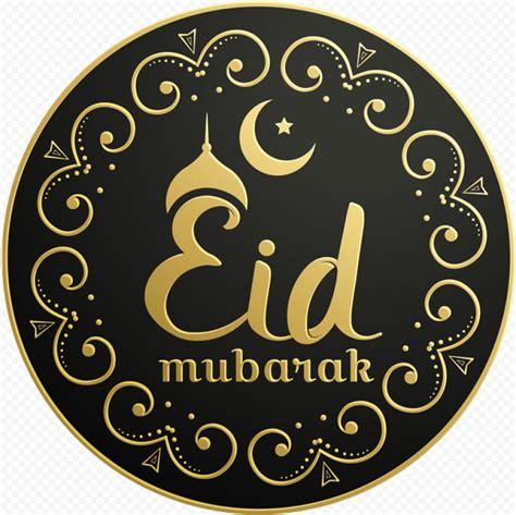 black gold creative luxury eid mubarak design citypng
