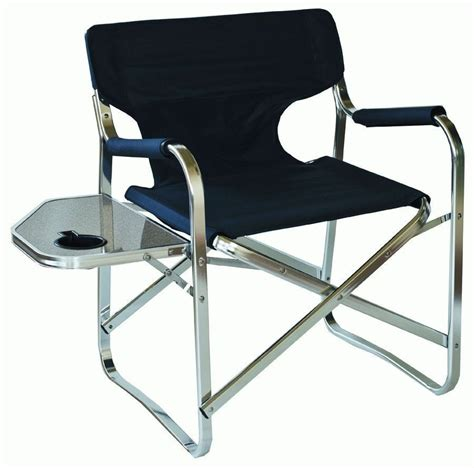 Folding Boat For Sale Ebay Australia by Supex Aluminium Directors Chair Folding Side Table For