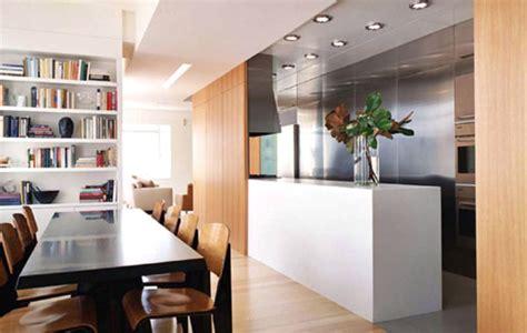 separation cuisine salle a manger aménagements cuisine bien utiliser un séparateur de