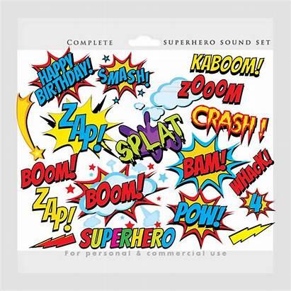 Superhero Clip Clipart Comic Super Heroes Instant