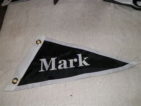 Personalized Boat Flags personalized custom your boat name boat burgee flag