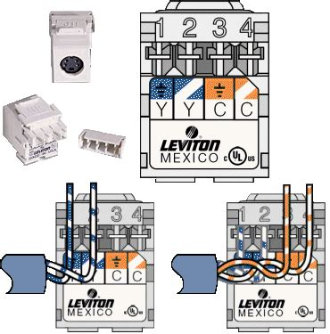 Rca Wall Plate Rj45 Connector Wiring Diagram by Terminating Wall Plates Wiring