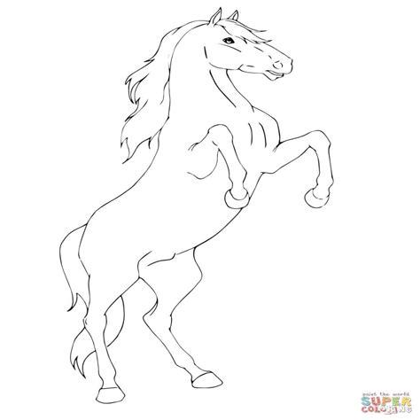 Paarden Kleurplaat Printen by Kleurplaten Paarden Printen Kleurplaat Vor Kinderen