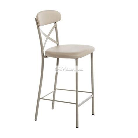 chaise tabouret cuisine tabouret de bar ht 65 cm calia et tabouret de cuisine par