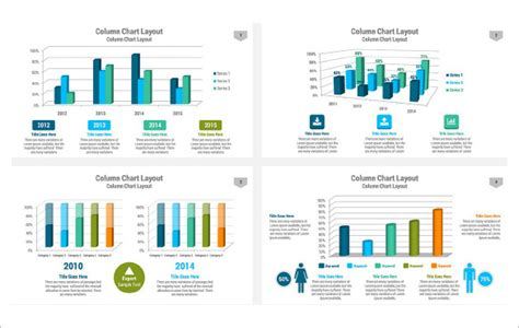 powerpoint chart templates  excel