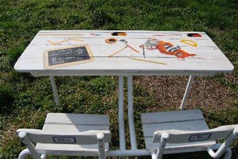 relooker bureau ecolier relooking eco recyclage mobilier créations originales