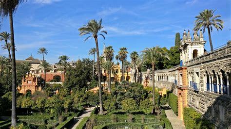 royal alcazar  seville visions  travel