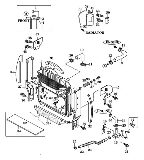 Mahindra 4110 Wiring Diagram by Cooling System Parts For 4110 Mahindra Tractor