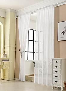 Gardinen Stores Mit Kräuselband : wei transparente gardinen vorh nge und weitere gardinen vorh nge g nstig online kaufen ~ Orissabook.com Haus und Dekorationen