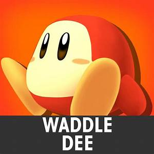 Waddle Dee Super Smash Bros For Wii U Gt Skins Gt Kirby
