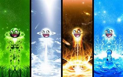 Elements Awesome Face Fanpop Cool Elemental Element