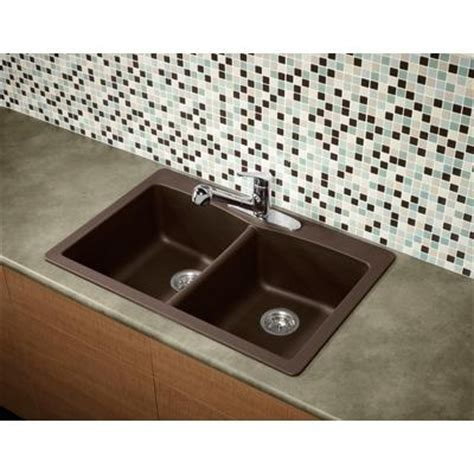 glacier bay kitchen sink glacier bay bowl granite kitchen sink espresso 3755