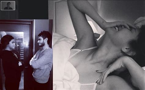 Selena Gomez And DJ Zedd Video Chat In Bed Together, # ...