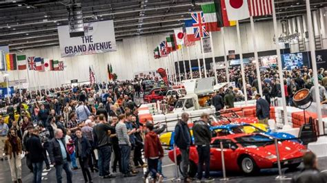 The London Classic Car Show 2018 At Excel London