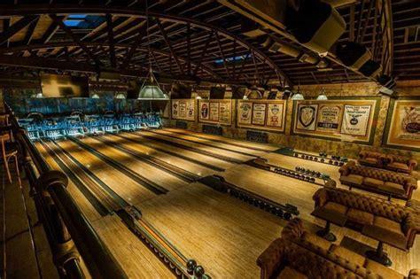 restored  bowling alleys highland park bowl