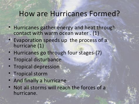 what is a hurricane l hurricanes