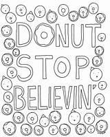 Coloring Donut Cakespy Donuts Adults Stop Roblox Believin Own Sheets Printable Cease Yummy Grown Ups Colorear Picolour Kleurplaten Bloglovin Imprimibles sketch template