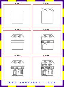 How to Draw a House Step by Step for Kids