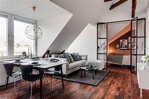 Appartement Sous Comble : appartement de 56m2 sous des combles ~ Dallasstarsshop.com Idées de Décoration